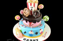 Candy Theme Cakes