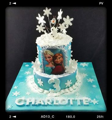 Frozen Theme Cake 2