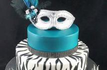 Masquerade Theme Cakes