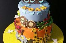 Noah's Ark Cakes