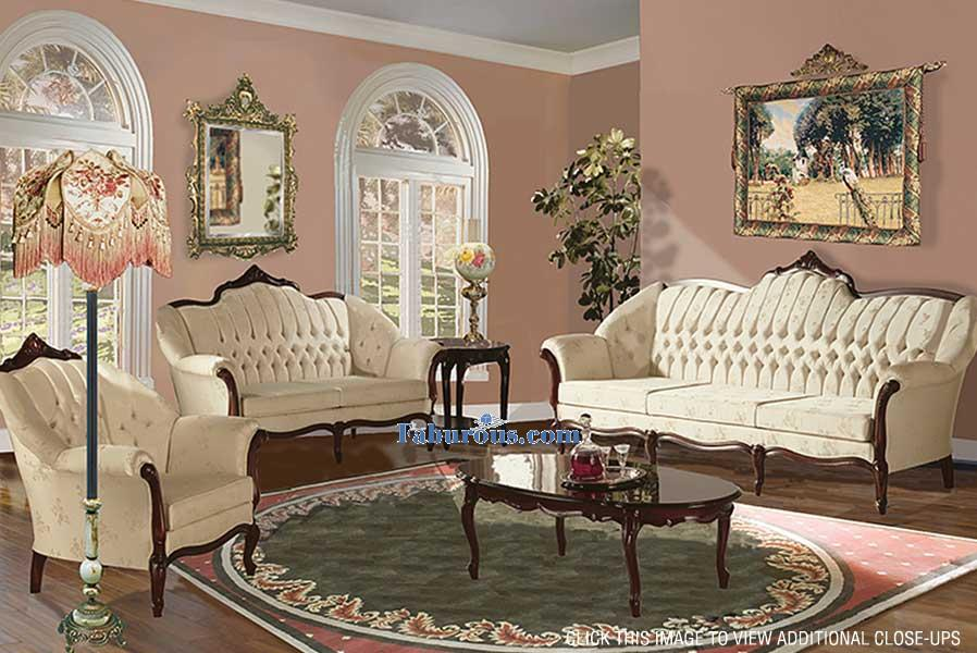 How to create a victorian living room design for Living room design styles