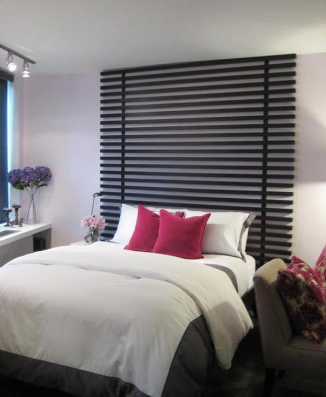 Beautiful bed headboard ideas - Floor to ceiling headboard ...