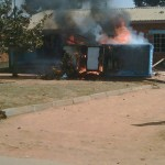 DPP car torched in Mzuzu #20July (Better Photo)