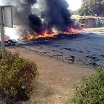 #Malawi: Fire on road to Mchesi in Lilongwe #July20