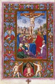 The Crucifixion, f. 65v