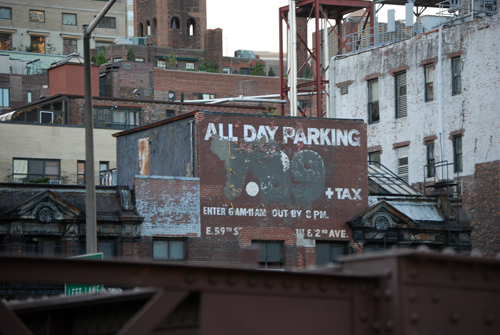 All Day Parking $7.99 - 59th Street Bridge - Manhattan - © Frank H. Jump