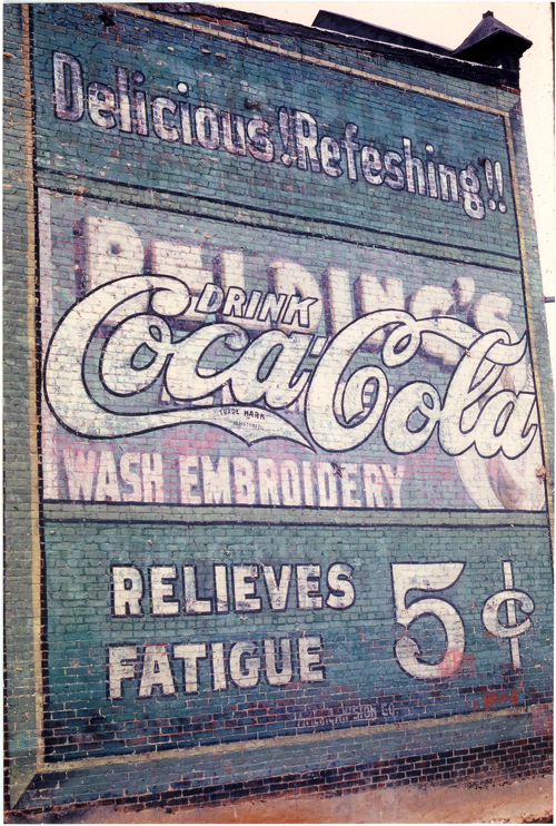 Coca-Cola, Washington D.C., 2002 - Sandra Walker, watercolorist