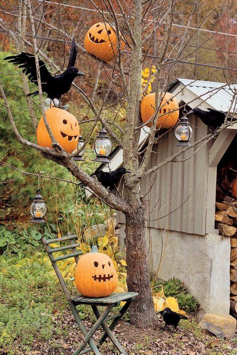 15 idee per decorare gli esterni per Halloween