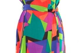Multicolor Kleid
