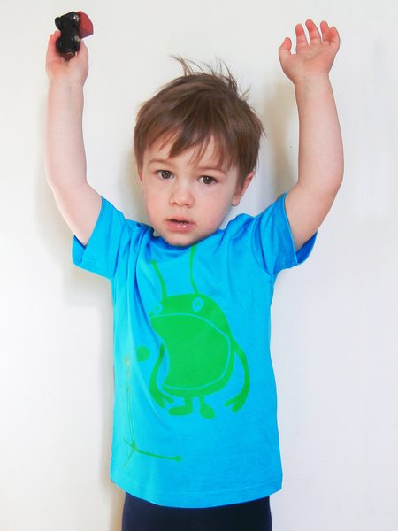 ALIEN-SHIRT FUER COOLE KIDS