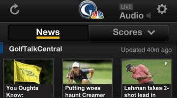 Golf Apps – News