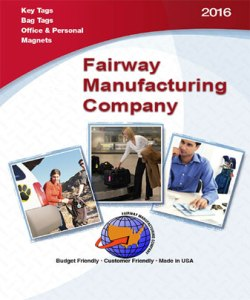 Fairway Manufacturing Company Key & Bag Tags Catalog