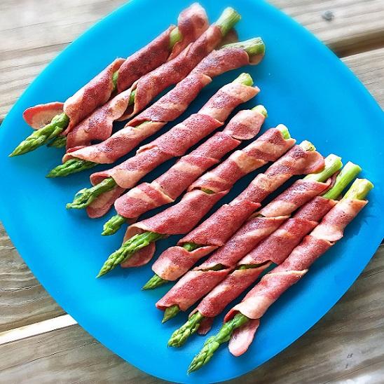 turkeybaconwrappedasparagus