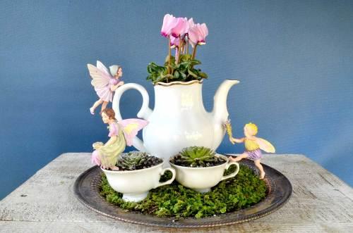 Medium Of Miniature Garden Ideas