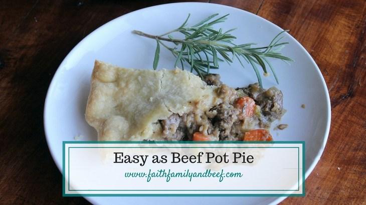Easy as Beef Pot Pie
