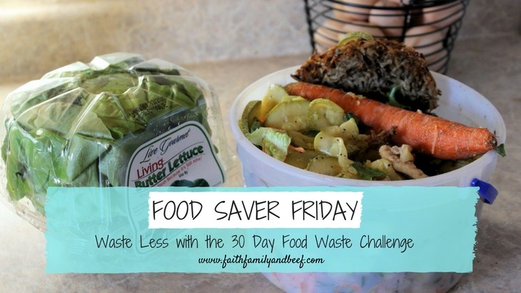 Waste Less with the 30 Day Food Waste Challenge