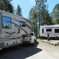 RV Travels across the USA - Leaving Flagstaff but not AZ