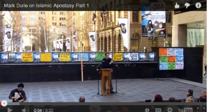 Mark Durie on Islamic Apostasy