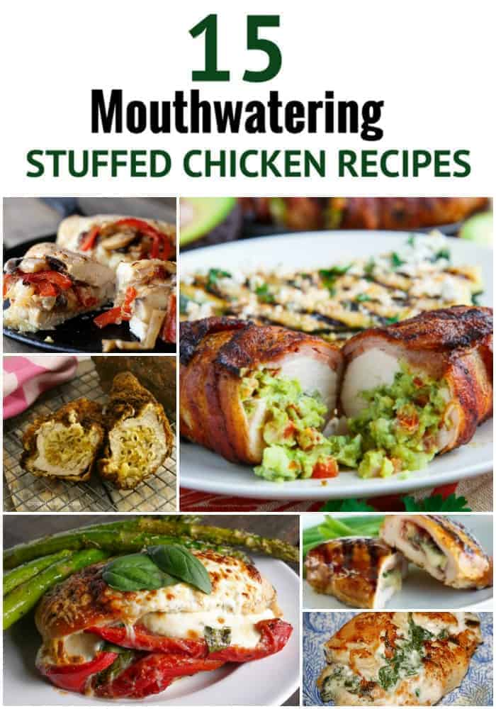 ... chicken. These unique stuffed chicken recipes are so good chickens