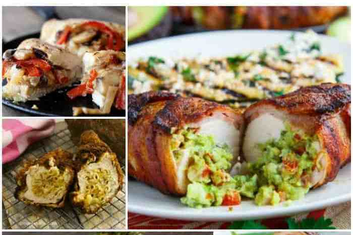 15 Mouthwatering Stuffed Chicken Recipes