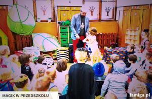 magik w przedszkolu