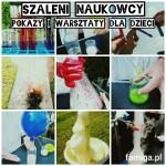 pokaz eksperymentów chemiczno-fizycznych Kraków eventy