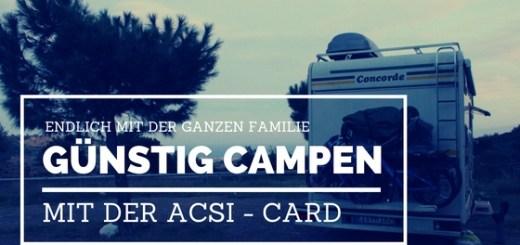ACSI Card nutzen