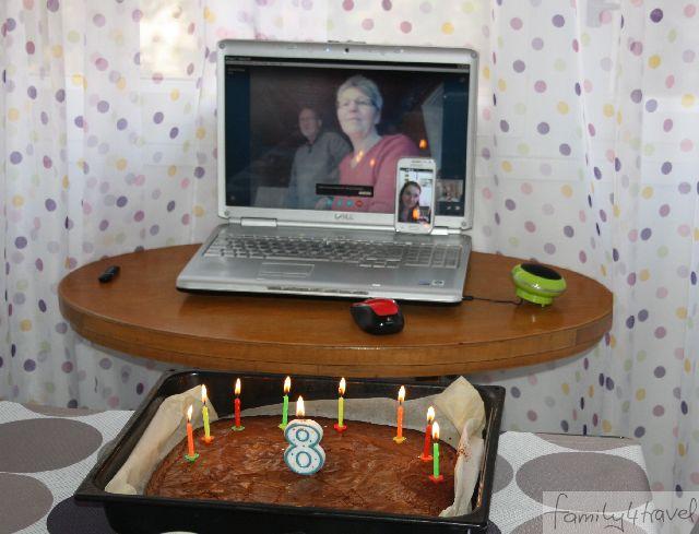 Familienleben: Geburtstag feiern auf der Reise