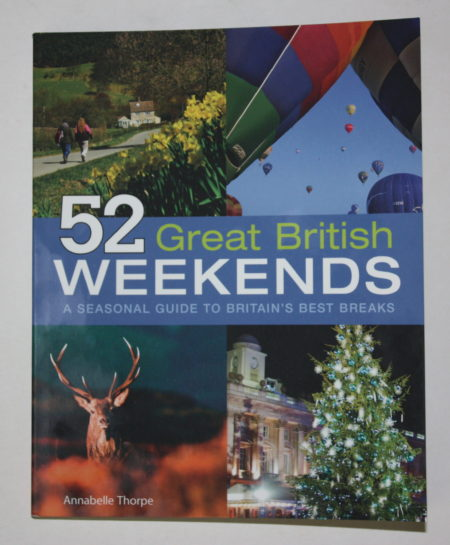 52 Great British Weekends Guide Book Giveaway Family Clan Blog