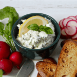 Cheese and herb spread