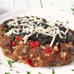 BBQ cheddar turkey meatloaf