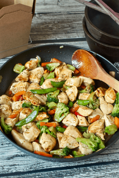 Easiest ever chicken stir fry (+ video) - Family Food on the Table