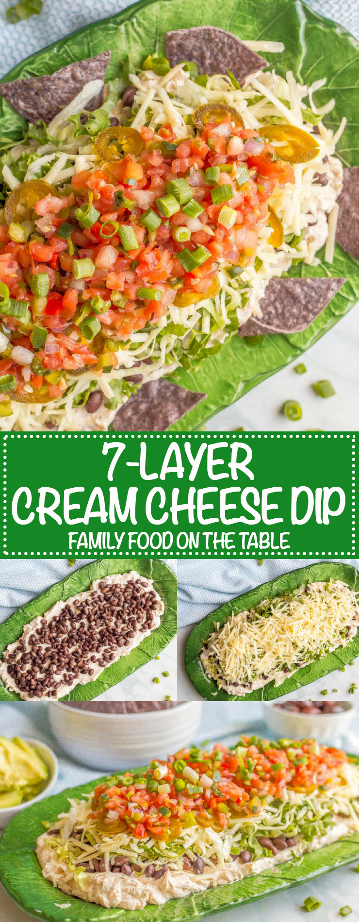 Large Of Layered Mexican Dip