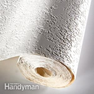Cover cracks with wall liner | The Family Handman | The Family Handyman