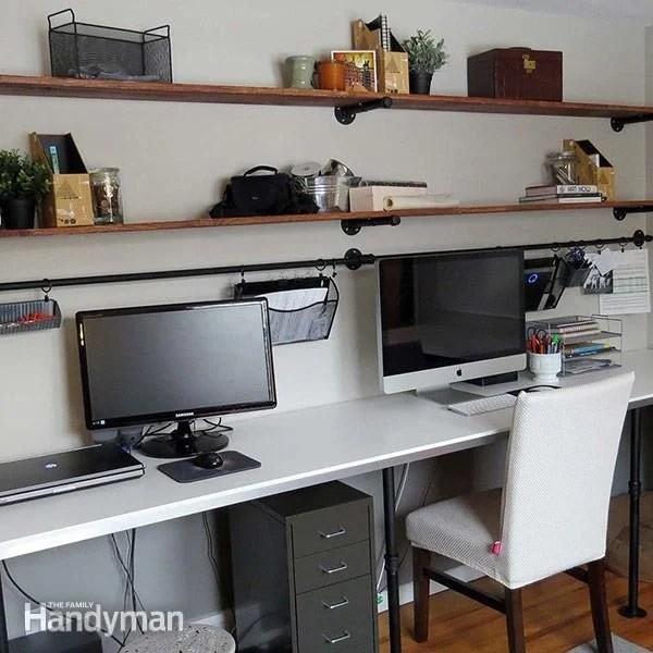 The Family Handyman Office Desk Organization System Diy
