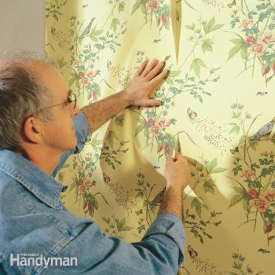 How To Hang Prepasted Wallpaper | The Family Handyman