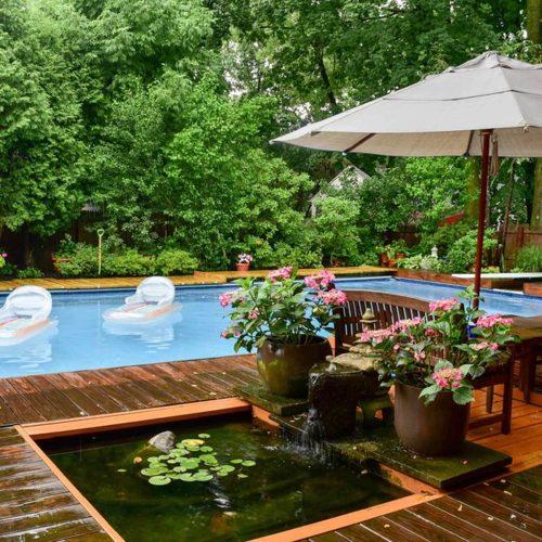 Medium Of Amazing Backyards Without Pools
