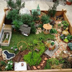 Intriguing Raised Bed Fairy Garden Diy Fairy Gardens Family Handyman Fairy Garden Planter Boxes