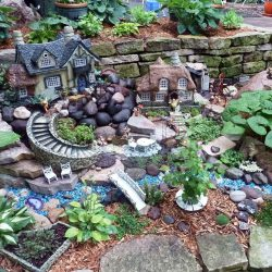 Extraordinary Retaining Wall Fairy Garden Diy Fairy Gardens Family Handyman Fairy Garden Planter Boxes