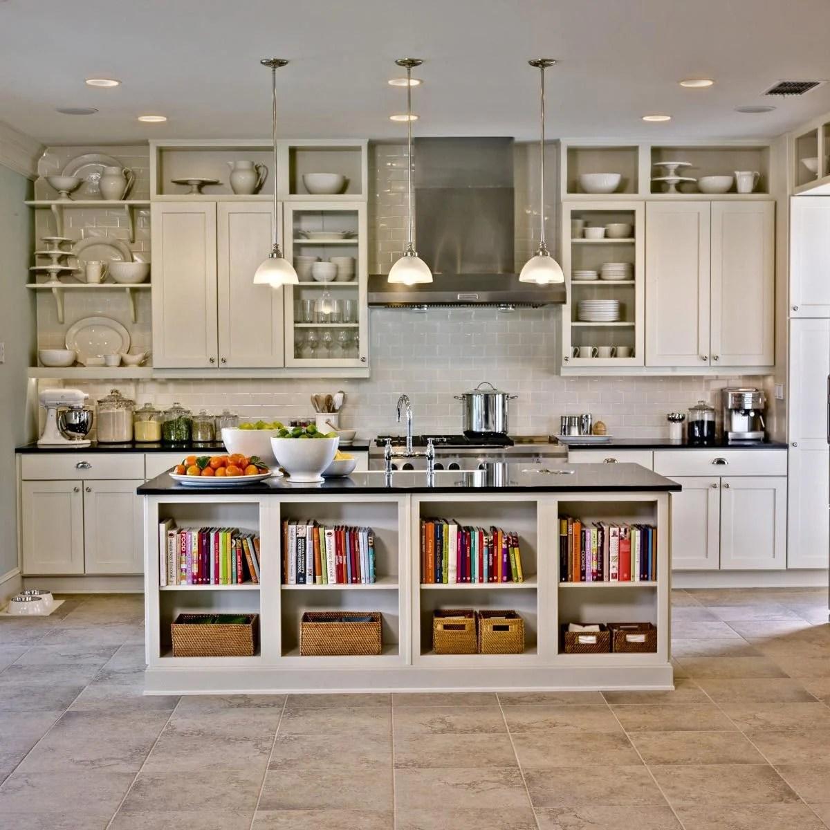 Manly Bookshelf Island Diy Kitchen Island Diy Kitchen Islands Family Handyman Kitchen Islands Houzz Kitchen Islands Seating kitchen Best Kitchen Islands
