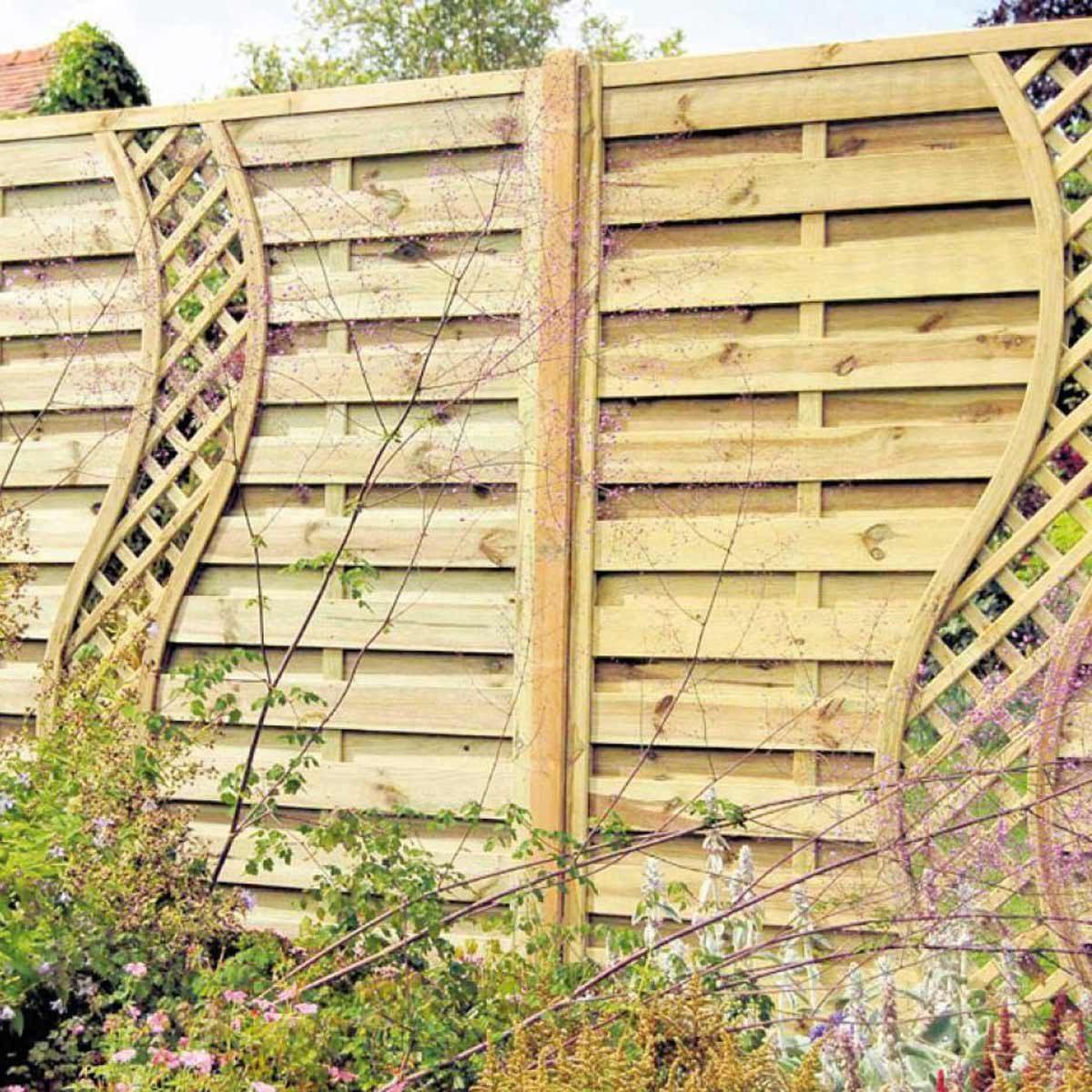 Fullsize Of Backyard Fence Idea