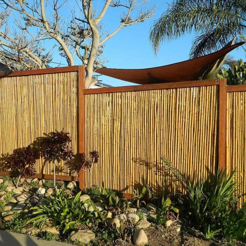 Medium Of Backyard Accessories Fencing