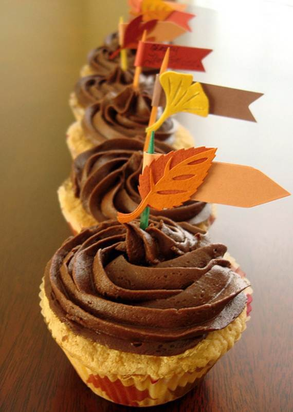 Easy Thanksgiving Cupcake Decorating Ideas   family holiday net     Easy Thanksgiving Cupcake Decorating Ideas  4