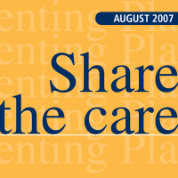 Share the Care Parenting Plan - Collaborative Parenting Apart