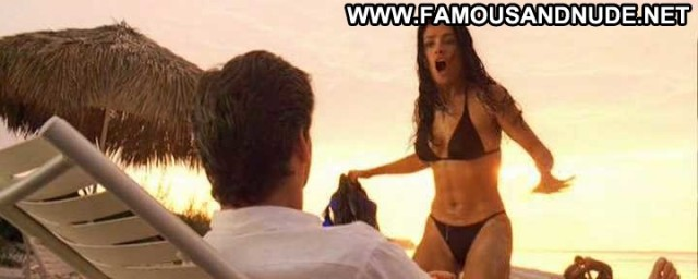 Salma Hayek Nude Sexy Scene After The Sunset Mexican Boat