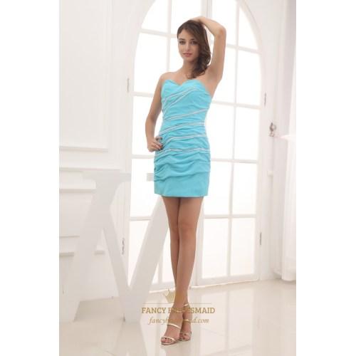 Medium Crop Of Sky Blue Dress
