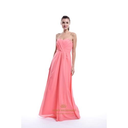 Medium Crop Of Coral Color Dress