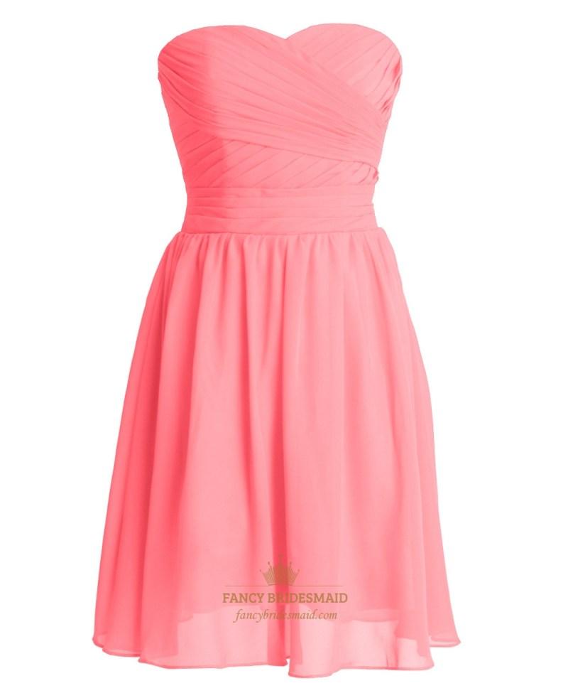 Large Of Coral Bridesmaid Dresses
