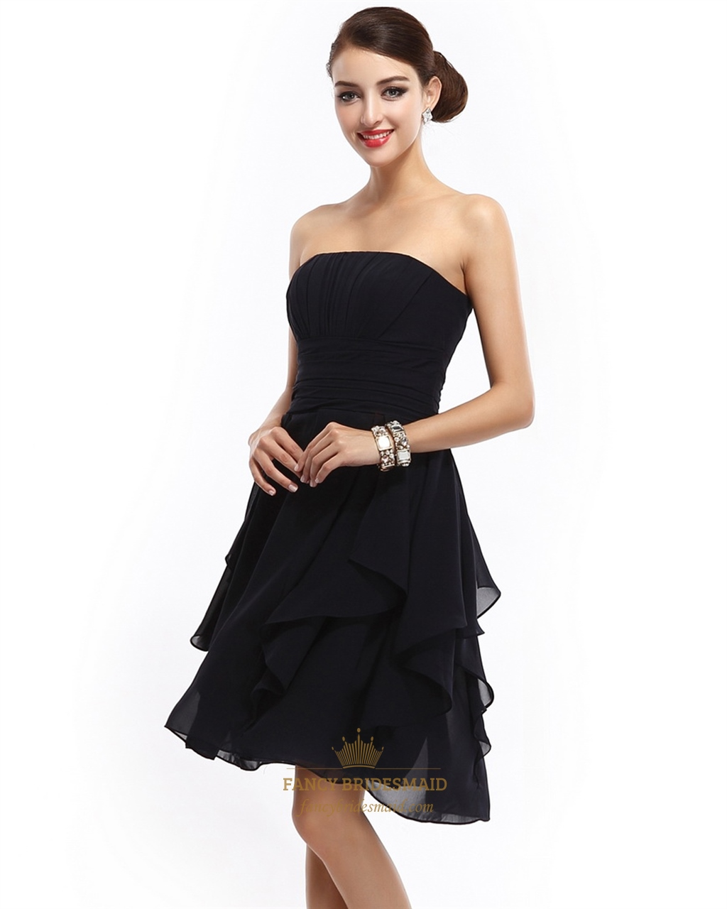 Fullsize Of Black Bridesmaid Dresses
