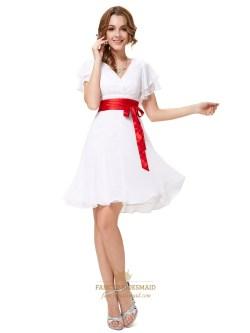 Small Of White Bridesmaid Dresses